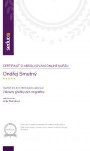 Certifikát o absolvování online kurzu