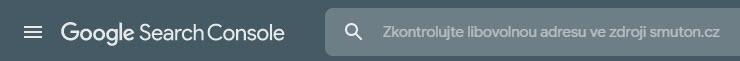 Google Search Console | Smuton.cz