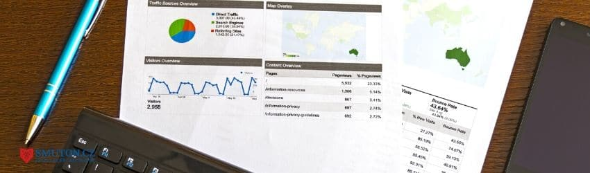 Přehled z Google Analytics