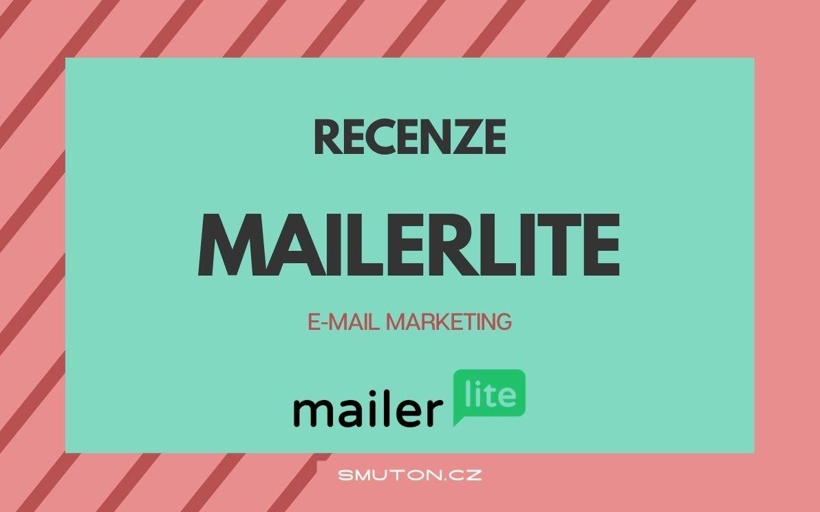 Recenze emailingového nástroje MailerLite