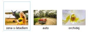 Správně pojmenované obrázky