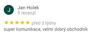 Reference od pana Holka