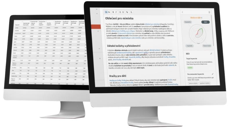 Profesionální SEO nástroje pro lepší copywriting.