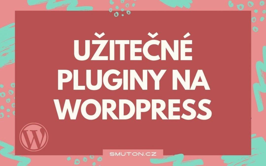 Užitečné pluginy na WordPress