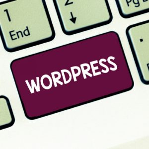Tlačítko WordPress