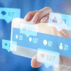 Interakce na sociálních sítí